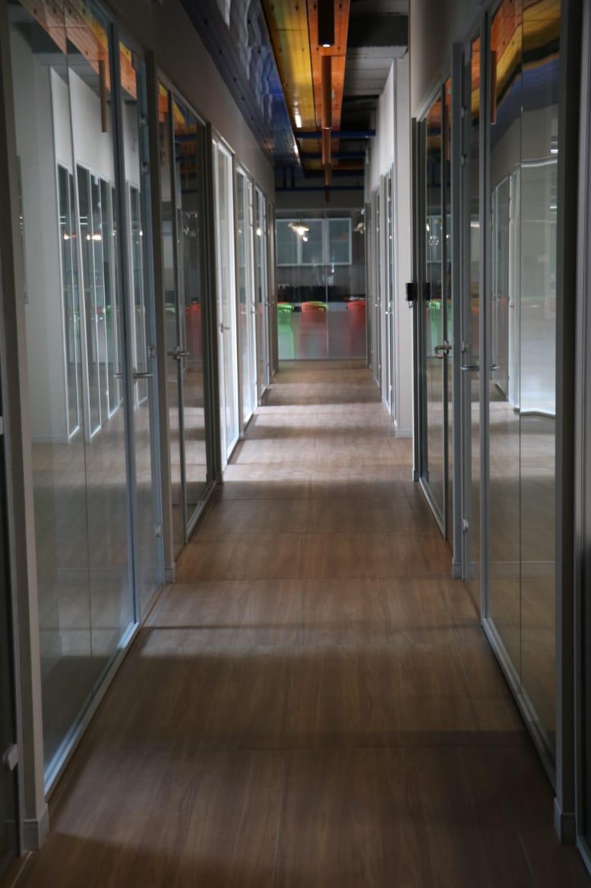 Evolve Hallway